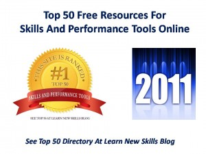 Top 50 Free Websites 2011 Skills and Perfromance Tools